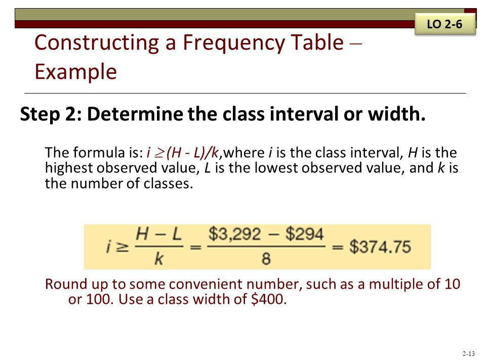 steps in constructing frequency distribution table pdf