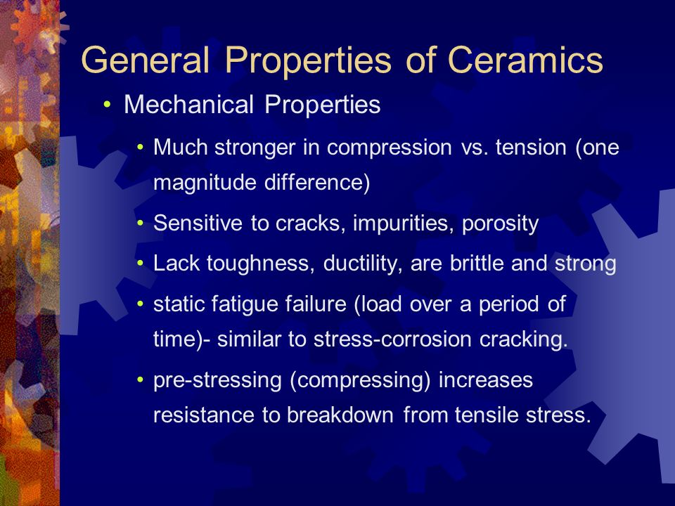 Ceramics Mixture Of Metallic And Non Metallic Elements