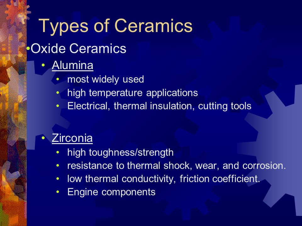 Ceramics Mixture Of Metallic And Non Metallic Elements