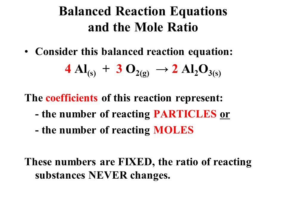 reagent and mole ratio The method of continuous variations was used in order to discover the proper mole ratio of the reactants in the reactions the entire reason this is necessary is because with differing ratios of reactants, a different reactant limits the reaction's productivity acting as the limiting reagent.