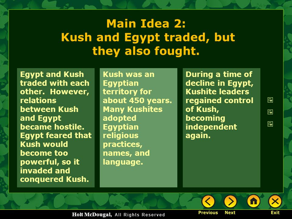 Ancient Egypt and Kush Chapter ppt video online download
