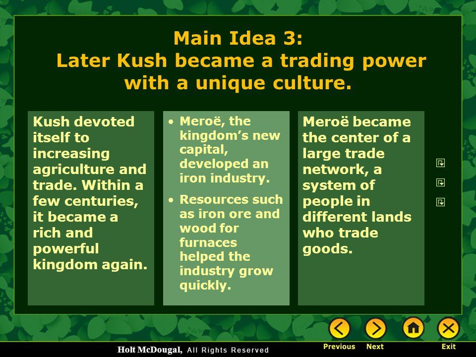 Trading system of kush - Ancient Kush - Home  8 United