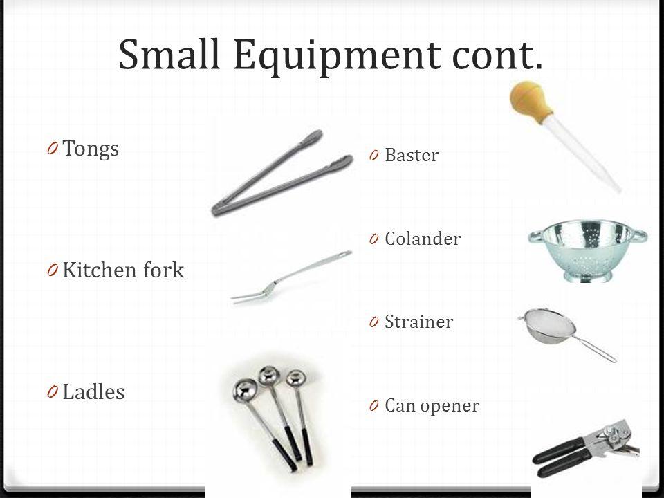 Small Kitchen Equipment ~ Kitchen utensils ppt video online download
