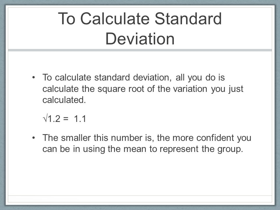 Calculating Standard Deviation Worksheet Bioinformatics RD – Standard Deviation Worksheet with Answers