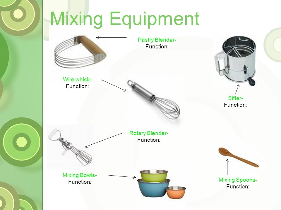 Kitchen Tools Names And Functions A Guided Tour Of Emacs