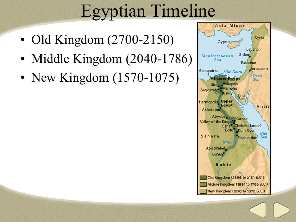 Egyptian Timeline Old Kingdom Middle Kingdom Ppt Download - Map of egypt during the new kingdom