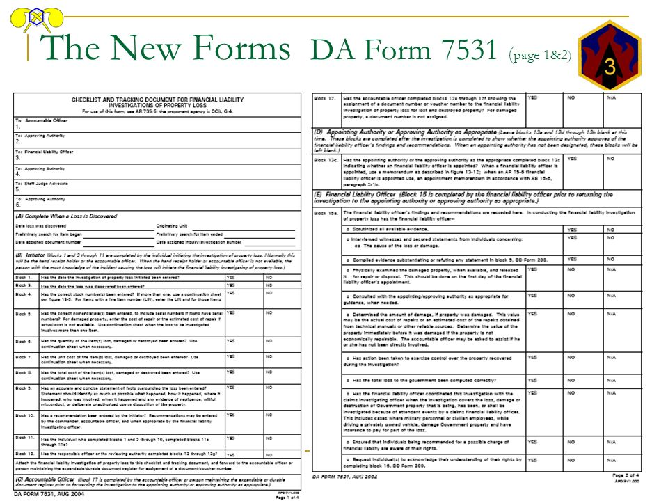 Da Form 4949 Images - Reverse Search