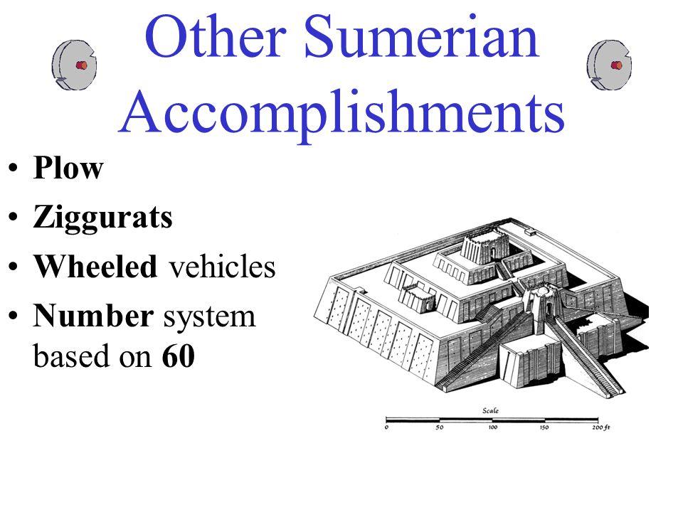 Other Sumerian Accomplishments