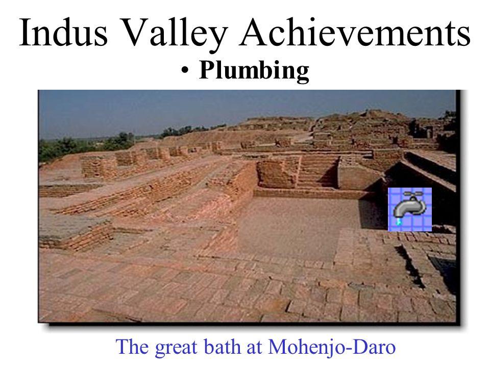 Indus Valley Achievements