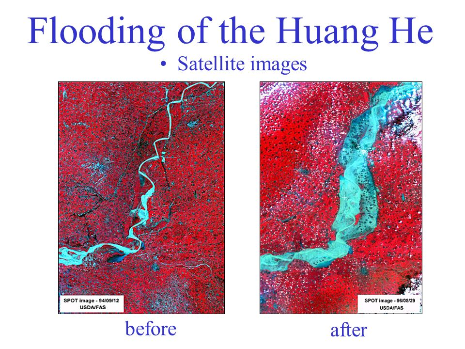 Flooding of the Huang He
