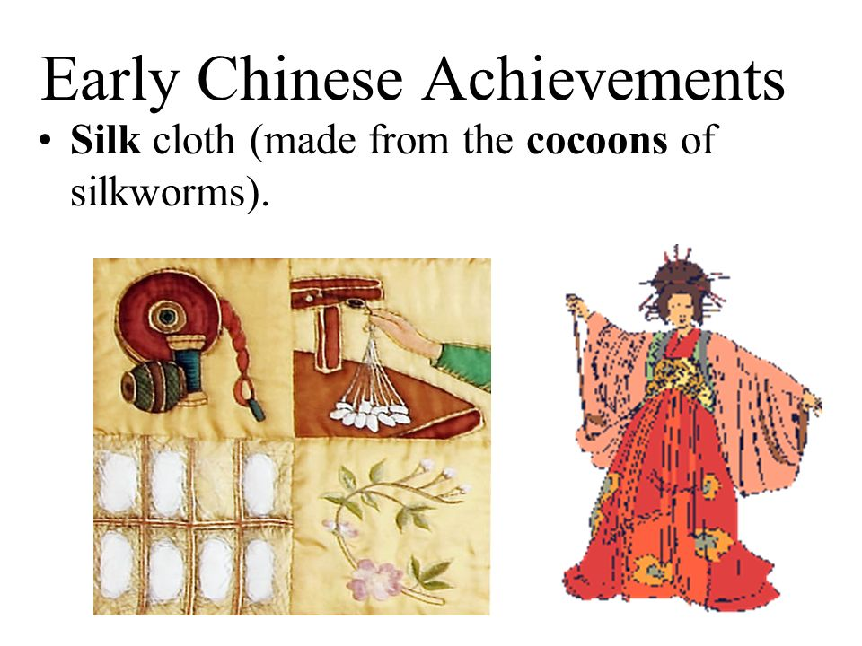 Early Chinese Achievements