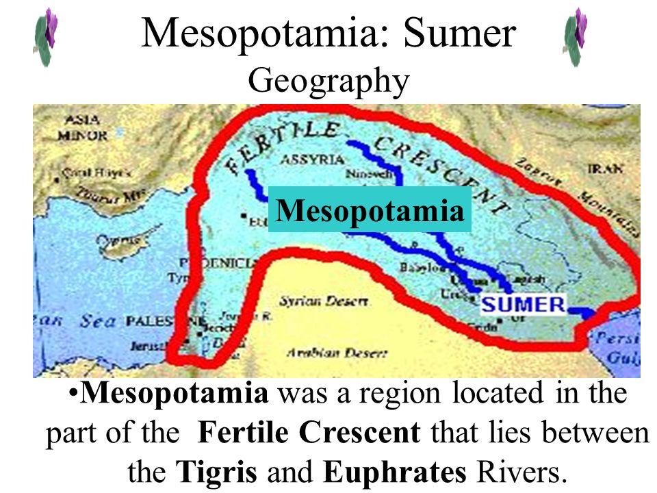 Mesopotamia: Sumer Geography