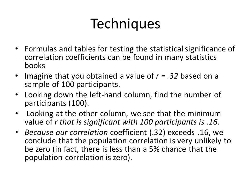 how to find population correlation coefficient