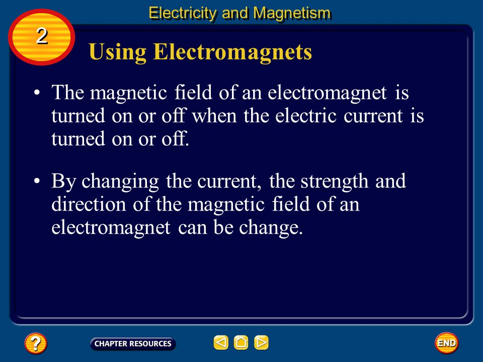 how to create magnetic field using electricity