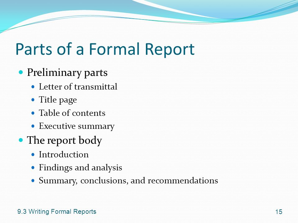 chapter 9 writing reports ppt video online download