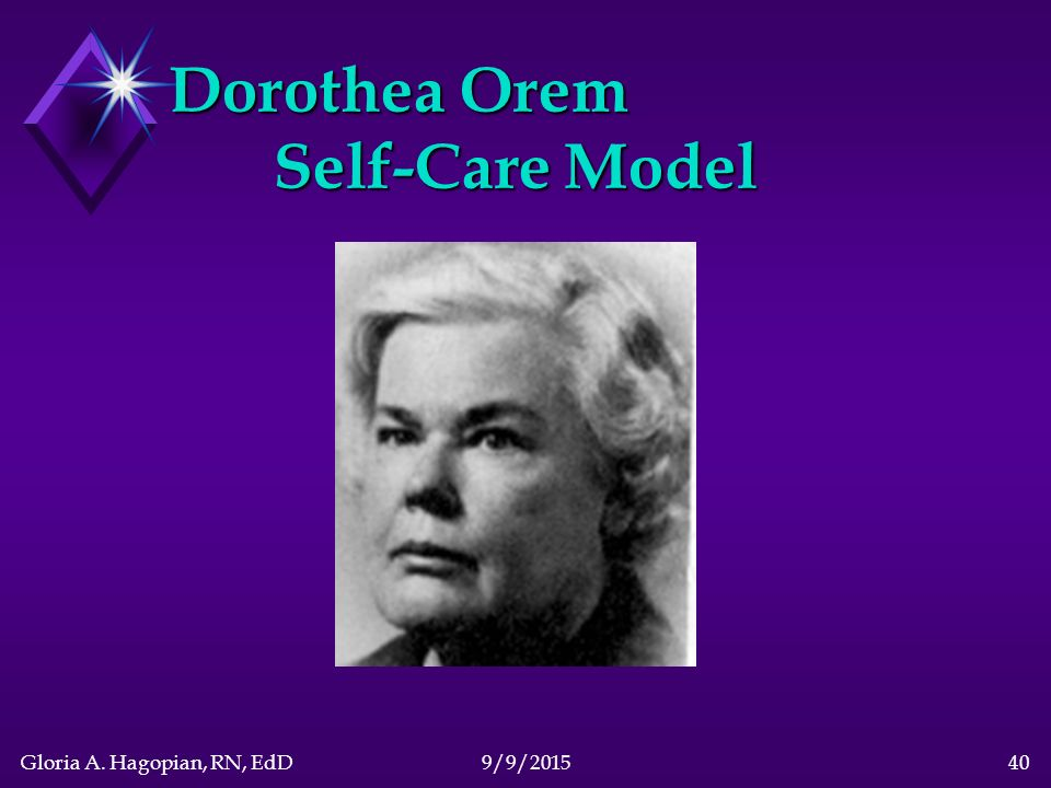 dorothea orem biographie