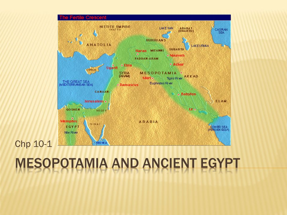Mesopotamia And Ancient Egypt Ppt Video Online Download - Map of egypt goshen