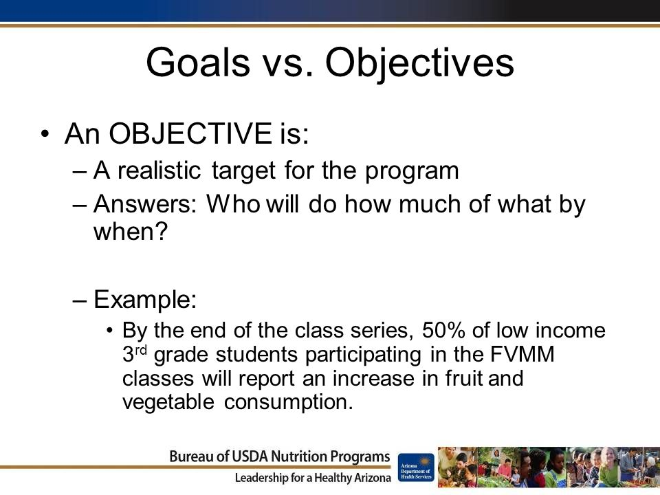 goals vs objectives Would you start on a journey without knowing your destination projects are the same setting goals and objectives for projects is key to project success.