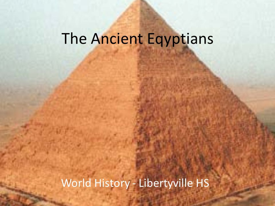 World History - Libertyville HS