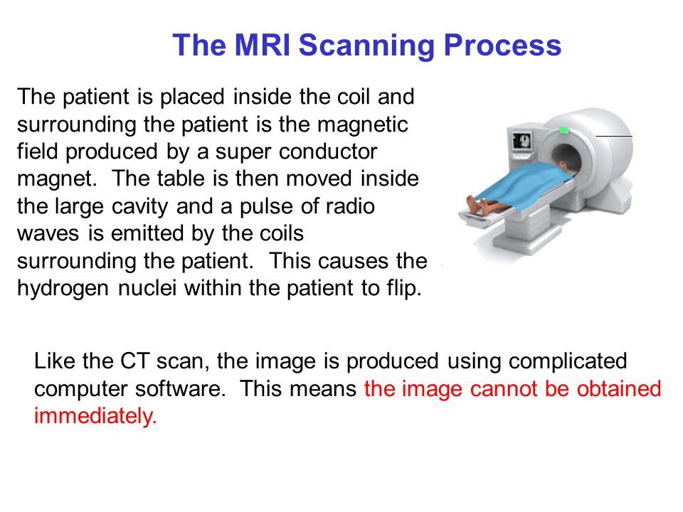After the scan