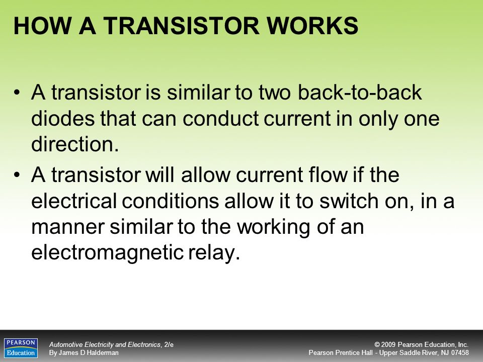 What is a transistor, how does it work, and how can it be ...