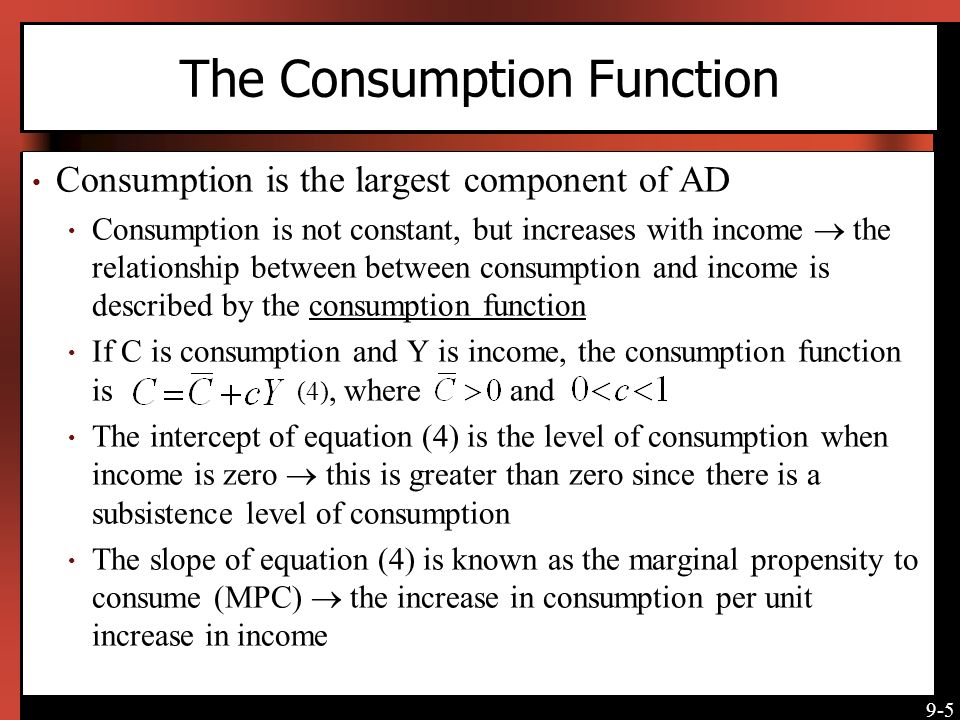 describe the relationship between consumption saving and investment