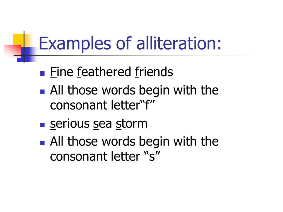 Today We Will Recognize Alliteration In Poems Ppt Video Online