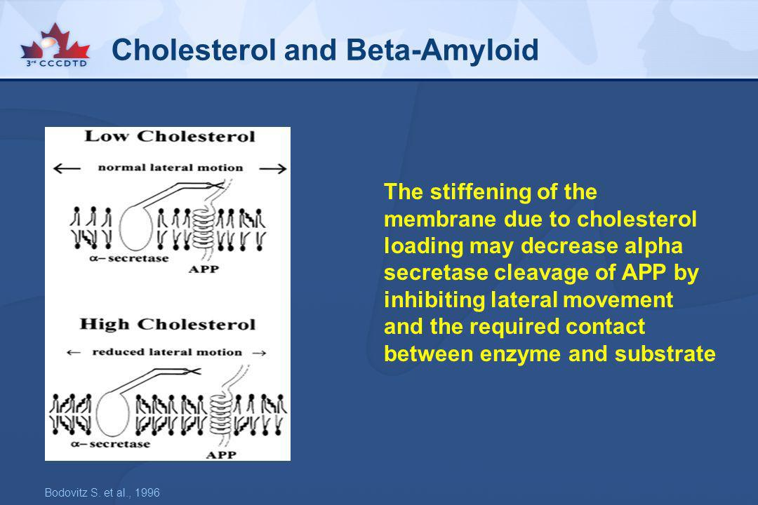 Cholesterol and Beta-Amyloid