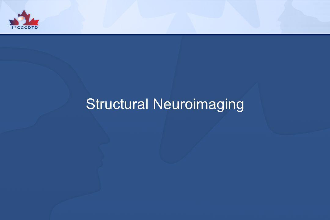 Structural Neuroimaging