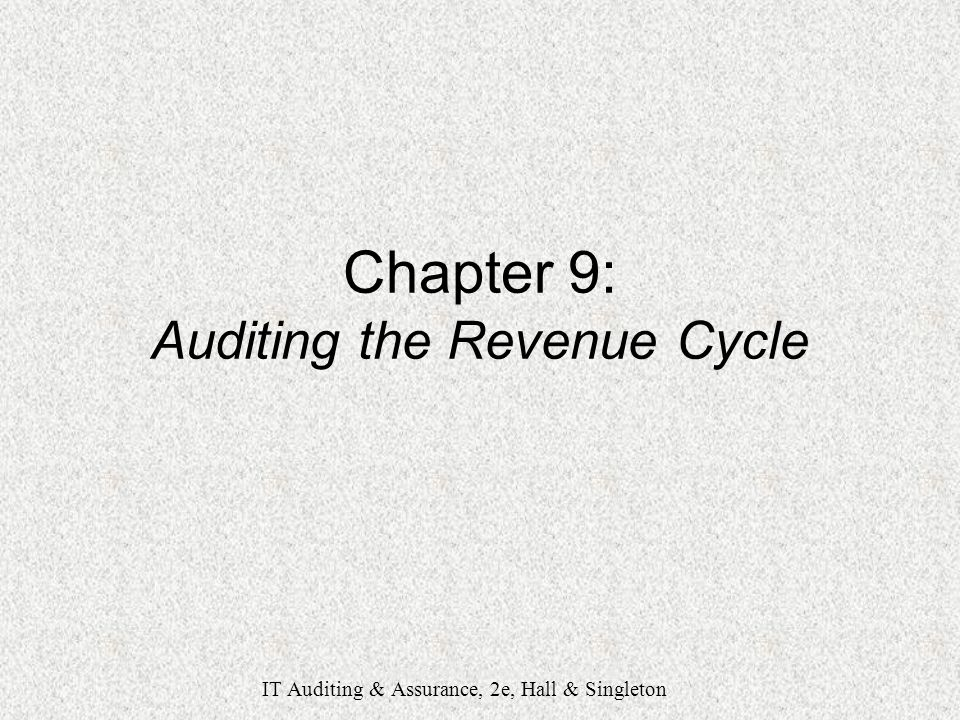 auditing chapter 9 Twentieth edition 0 ray whittington cia, cma, cpa depaul university kurt pany chapter 9 audit sampling 337 comparison of statistical and nonstatistical.