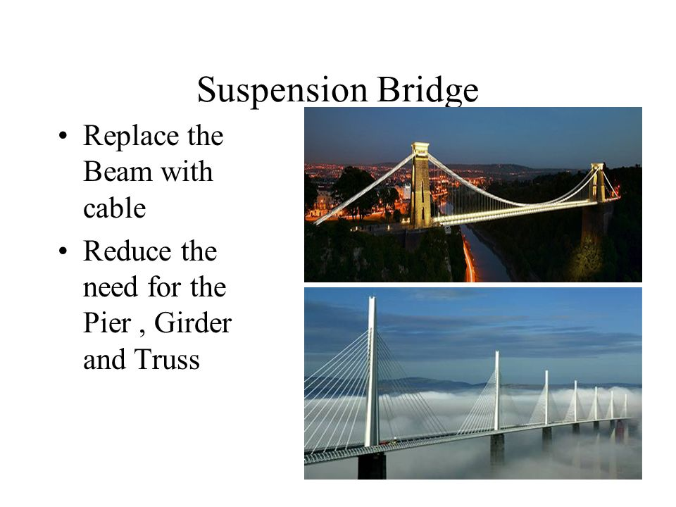 the simplest form of bridge the beam bridges A beam or girder bridge is the simplest and most in its most basic form, a beam bridge consists of a this doesn't mean beam bridges aren't used.