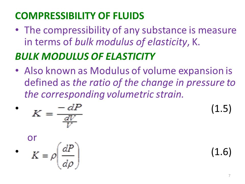compressibility definition. compressibility of fluids compressibility definition