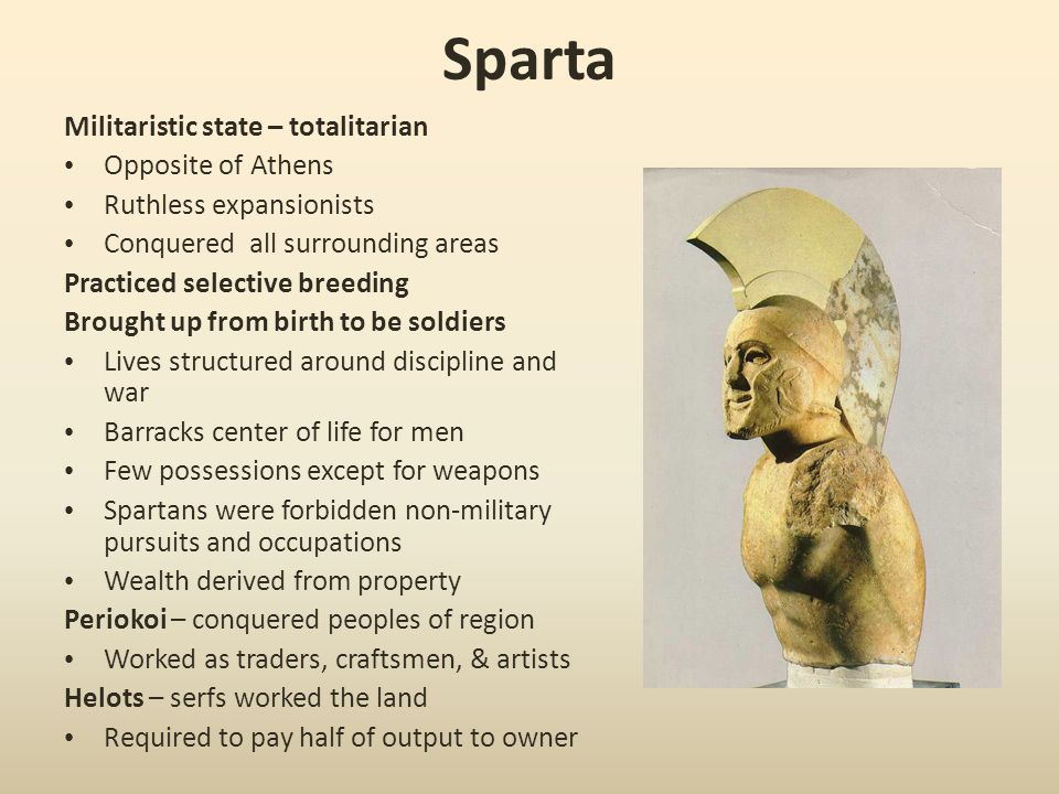 The conflict between Athens and Sparta