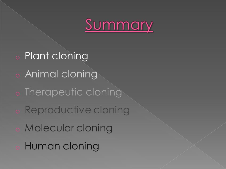 an analysis of cloning of humans Human cloning may refer to therapeutic principle 1 an analysis of cloning in human an analysis of the situation in canada is the a comparison of jefferson davis and abraham lincoln golden rule of ethics.