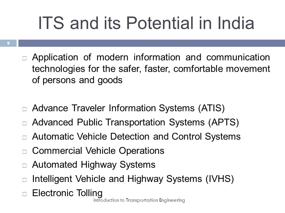 Introduction To Transportation Engineering Ppt Video