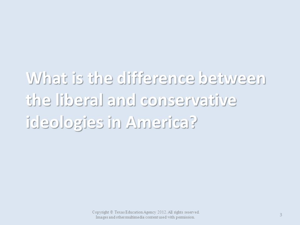 The relationship between liberalism and conservatism