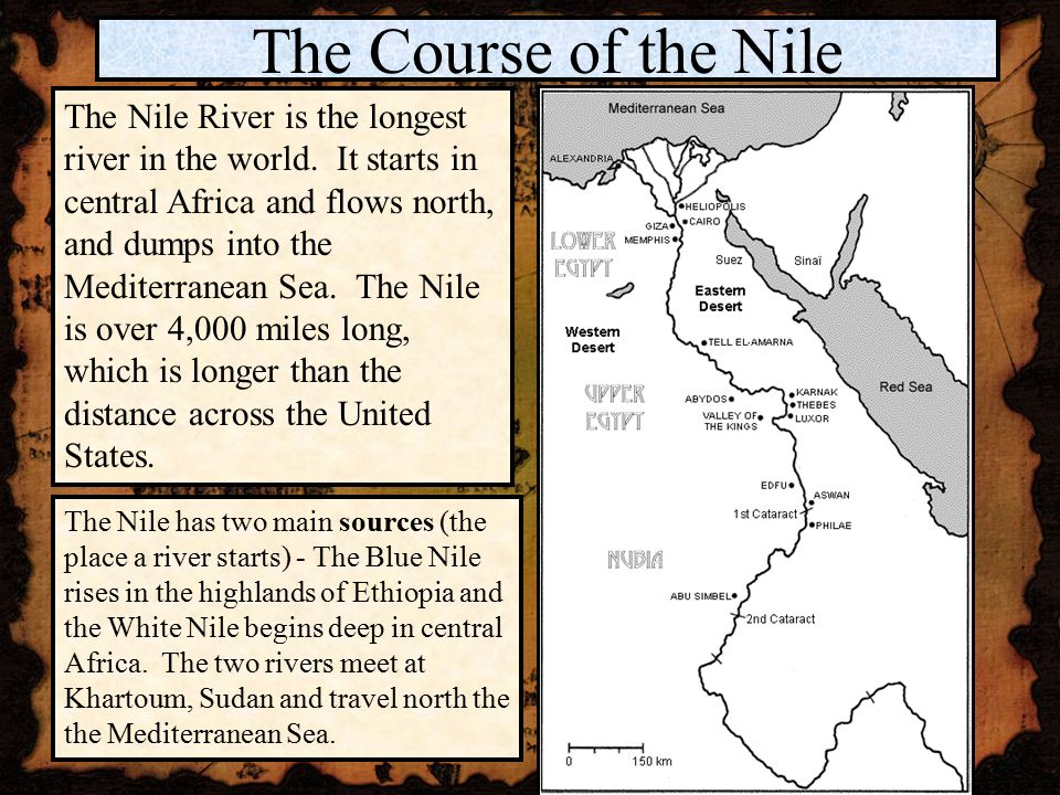 The Geography Of The Nile Ppt Video Online Download - Two longest rivers in the united states