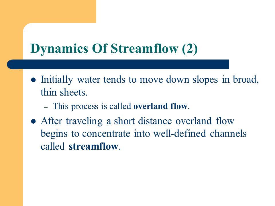 Dynamics Of Streamflow (2)