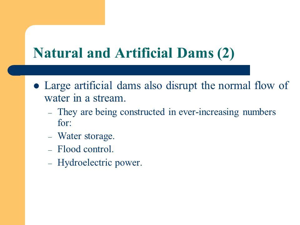 Natural and Artificial Dams (2)