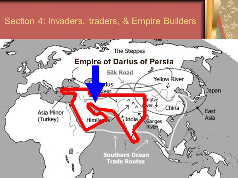 Section 4: Invaders, traders, & Empire Builders
