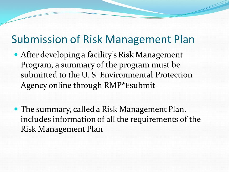 Tim Date, Manager Risk Management Planning Unit - Ppt Video Online