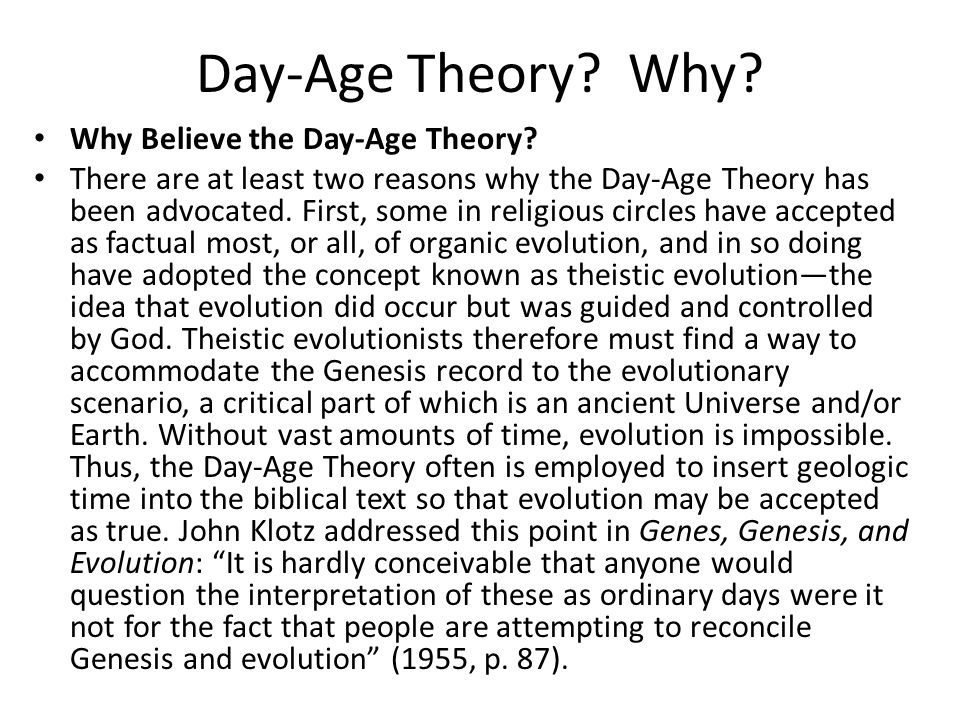 Day-age creationism