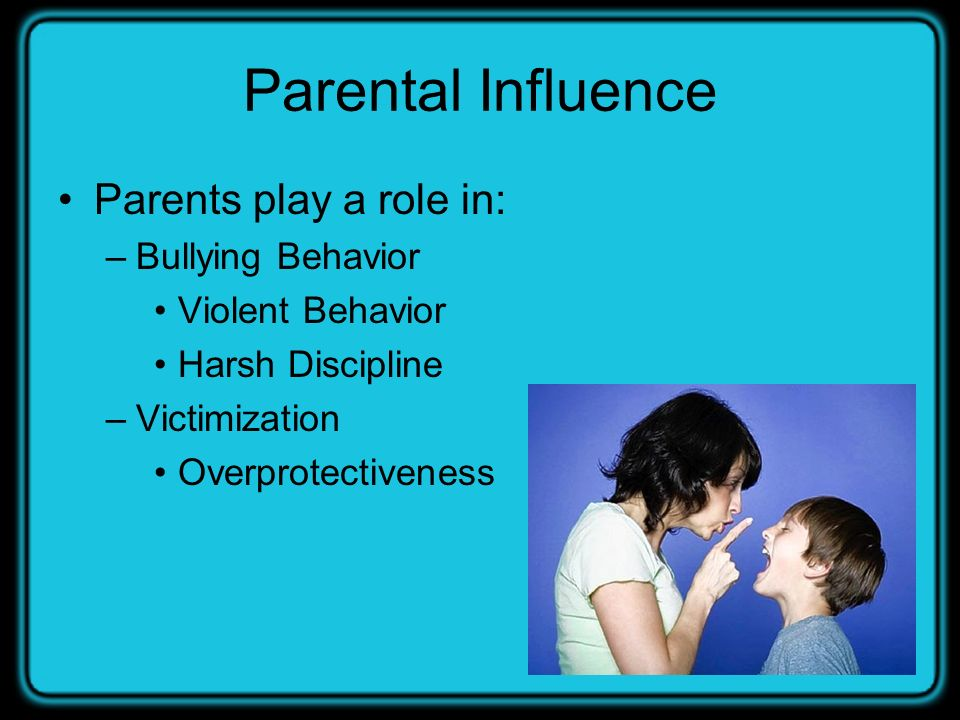 an analysis of the parents influence on children A total of 21 likert-type statements (1=strongly disagree to 5=strongly agree) were developed by researchers measuring parents' perception regarding children's use of price, color, brand name, peer influence, and style when buying clothes a principal factor analysis with varimax rotation, using the minimum eigenvalue of.