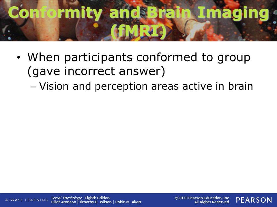 Conformity and Brain Imaging (fMRI)