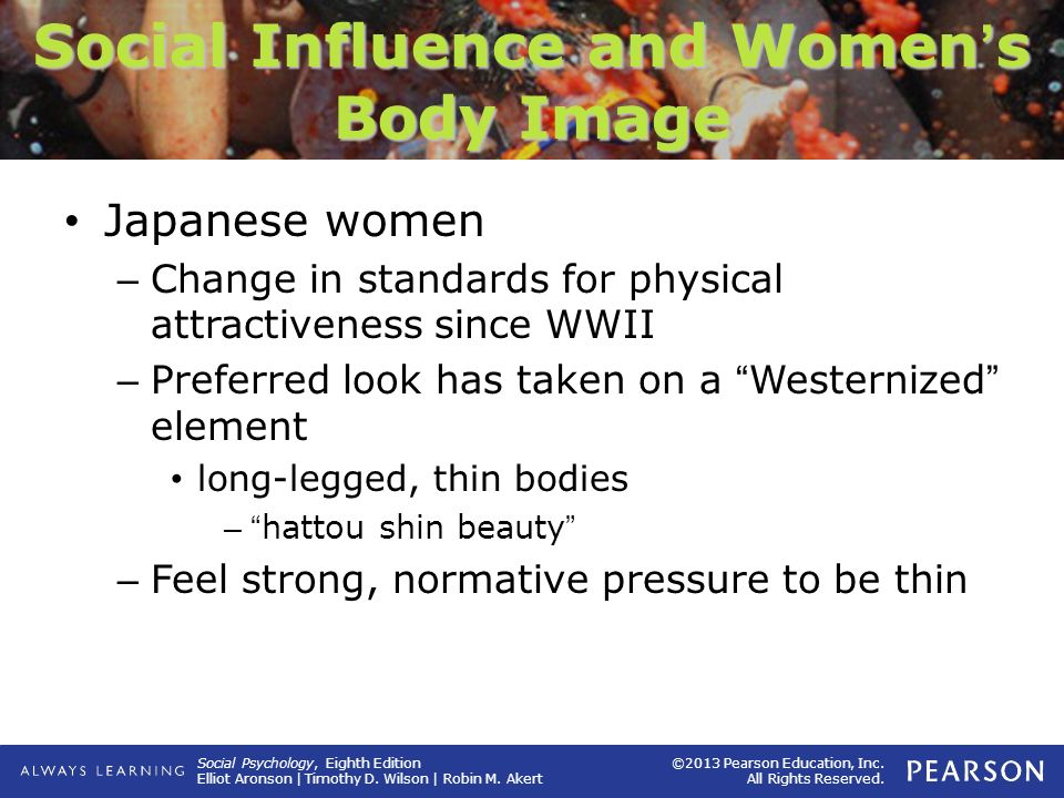 Social Influence and Women's Body Image