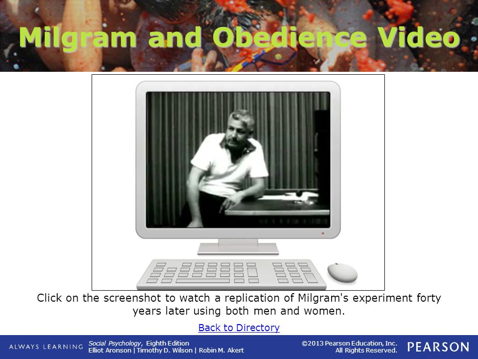 Milgram and Obedience Video