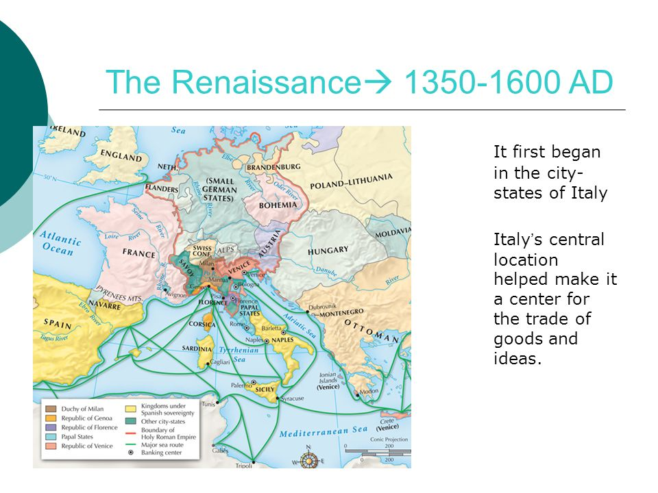 The italian renaissance ppt download the renaissance 1350 1600 ad it first began in the city states of sciox Choice Image
