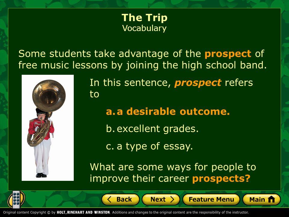 essay trip