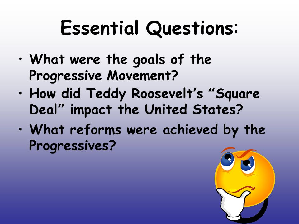 The Effects of the Progressive Era