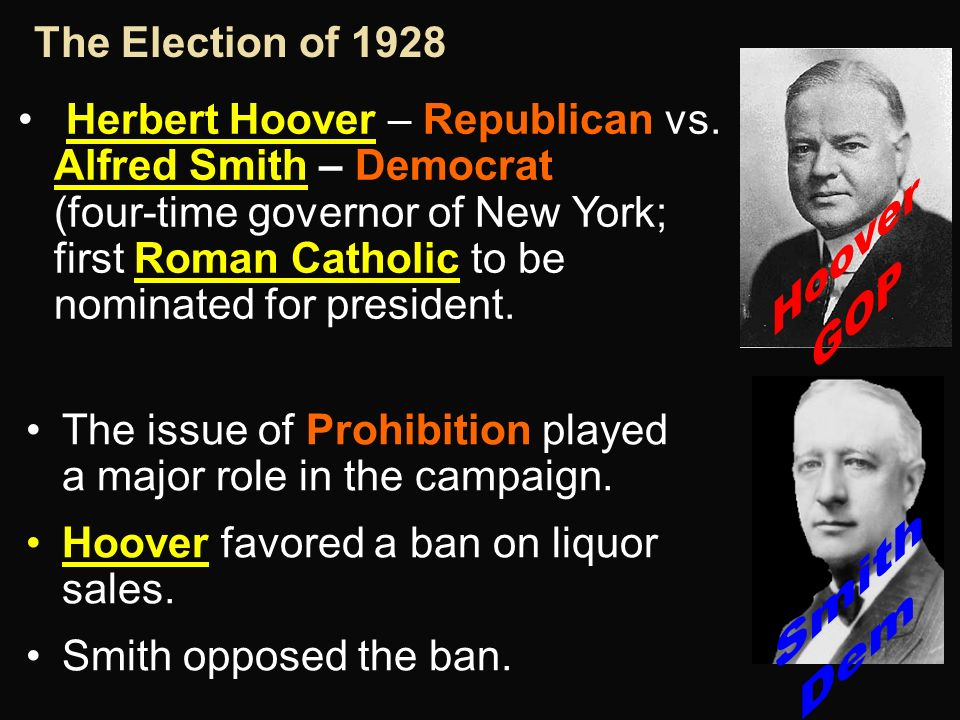 the issue of prohibition